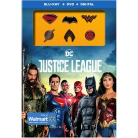 Justice League: Exclusive Pins (Blu-ray + DVD + Digital)
