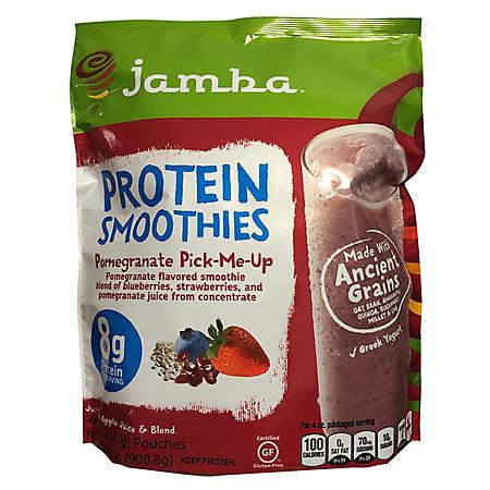 Jamba Juice Protein Pomegranate Kit (8 oz. bag, 4 ct.)