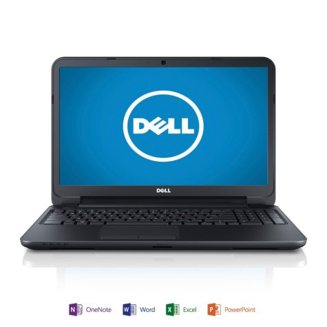 "Dell Inspiron 15R 15.6"" Laptop Computer, Intel Core i3-3217U, 6GB Memory, 1TB Hard Drive with Microsoft Office Home and Student 2013"