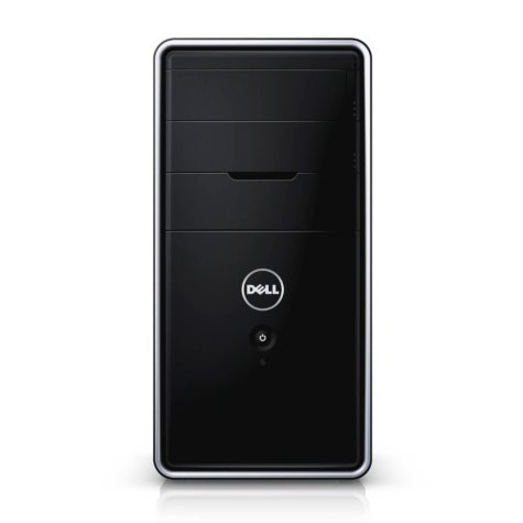 Dell i3847-3078BK Inspiron 3000 Desktop Computer. Intel Pentium G3220, 4GB Memory, 1TB Hard Drive