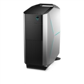 Dell Alienware Gaming Desktop Tower, Intel i5-7400 Processor, 8GB Memory, 1TB Hard Drive , AMD Radeon RX480 8GB Graphics, Alienware Multimedia Keyboard and Optical Mouse