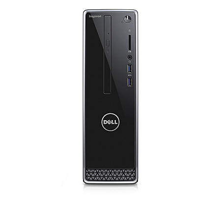 Dell Inspiron 3268 Desktop Tower, Intel Core i3-7100 Processor, 4GB Memory, 1TB HDD, Intel HD Graphics 630, KB216 Wired Keyboard, MS116 Wired Mouse, Windows 10 Home