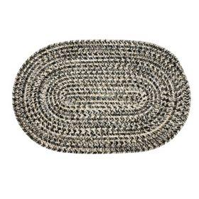 Colonial Mills Sand Tweed Oval Braided Rug, 2' x 3'