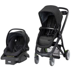 Safety 1st Riva 6-in-1 Flex Lightweight Travel System (Choose Your Color)