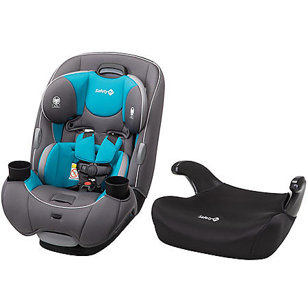Safety 1st EverFit DLX All-in-One Car Seat Combo (Choose Your Color)