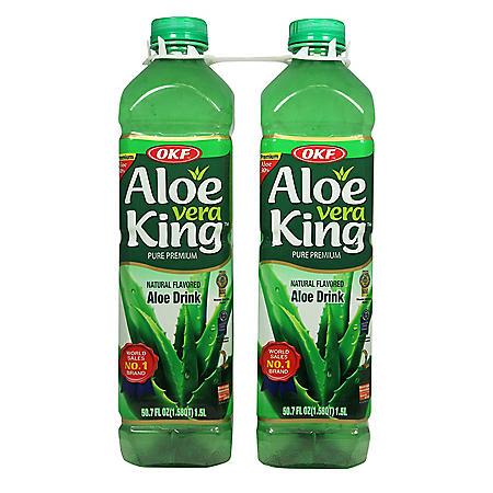 OKF Aloe Vera King Drink (1.5 L, 2 pk.)