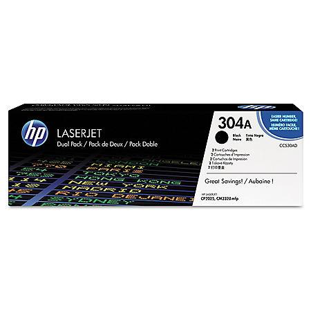 HP 304A Original Laser Jet Toner Cartridge, Select Color/Type