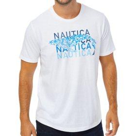 Nautica Men's Short Sleeve Graphic Tee