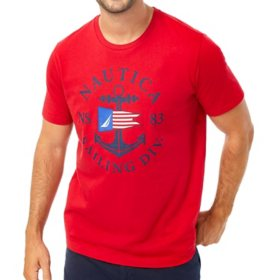 Nautica Men's Short Sleeve Graphic Tee