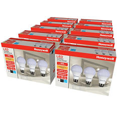Honeywell A19 9.5W LED Bulb Set (30 Pack)