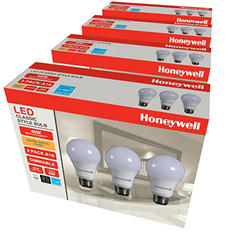 Honeywell A19 6W LED Bulb Set (12 Pack)