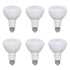 Honeywell 800 Lumen B30 LED Dimmable Light Bulbs - Warm White (6-Pack)