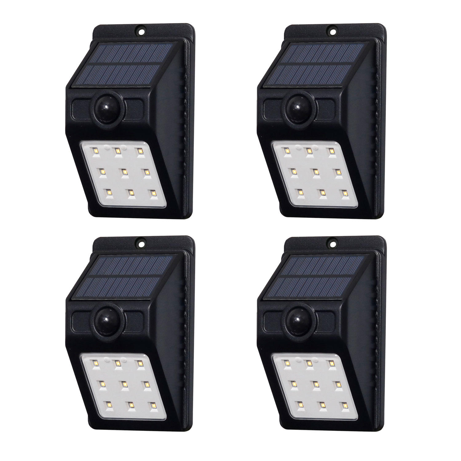 4-Pack Westinghouse 100 Lumen Solar Motion-Activated Lights