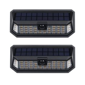 Westinghouse 1200 Lumen Linked Solar Motion Activated Wall Light (2-Pack)