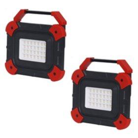 Honeywell 1000 Lumen Rechargeable Work Light Set (2-Pack)