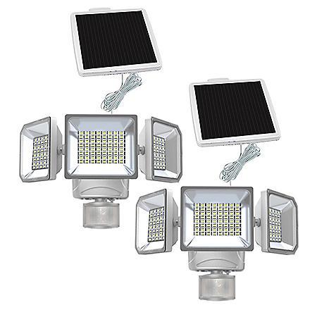 Westinghouse 2000 Lumen Solar Motion Activated Security Light (2 Pk.)