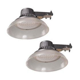 Honeywell 5000 Lumen LED Utility Light, Gray (2 Pk.)
