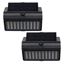Westinghouse 1500 Lumen Solar Motion-Activated Lights (2 Pack)