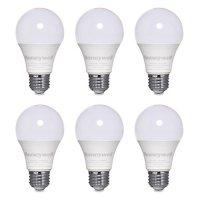 Honeywell 800 Lumen A19 LED Dimmable Light Bulbs - Warm White (6-Pack)