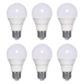 Honeywell 1600 Lumen A21 LED Dimmable Light Bulbs - Natural White Light (6-pack)