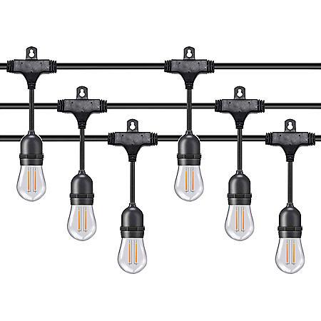 Honeywell 36' LED Dual Filament Vintage String Lights