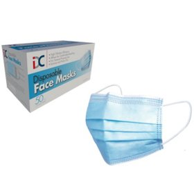 Disposable Face Mask (50 ct.)