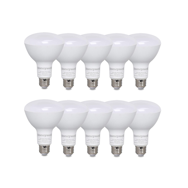 10-Pack Honeywell 800 Lumens BR30 Dimmable LED Light