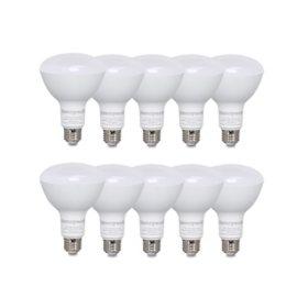 Honeywell 800 Lumens BR30 LED Light, Dimmable (10-Pack)