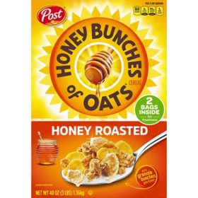 Post Honey Bunches of Oats, Honey Roasted (48 oz.)