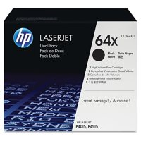 HP 64 Original Laser Jet Toner Cartridge, Black (24,000 Page Yield)