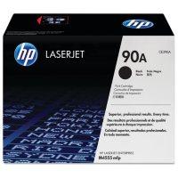 HP 90 Original Laser Jet Toner Cartridge, Black, (Select Type)