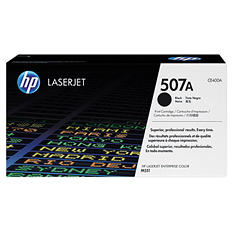 HP 507 Original Laser Jet Toner Cartridge, Select Color/Type