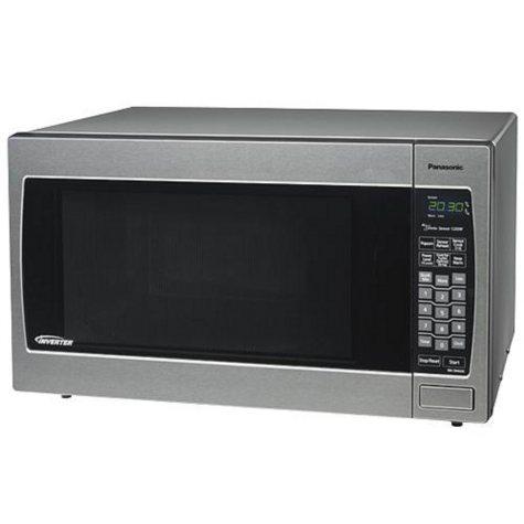 Panasonic Prestige 2.2 cu. ft. 1250 Watt Countertop Microwave - Stainless