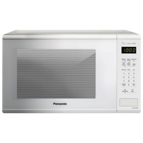Panasonic Countertop Microwave Oven, 1.3 cu. ft with Genius Sensor, 1100 Watts (Assorted Colors)