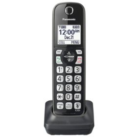 Panasonic KX-TGDA51M DECT 6.0 Additional Cordless Handset for KX-TG744SK1 (Black)