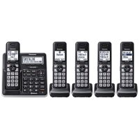 Panasonic KX-TGF775S Link2Cell DECT 6.0 Expandable Cordless Phone System