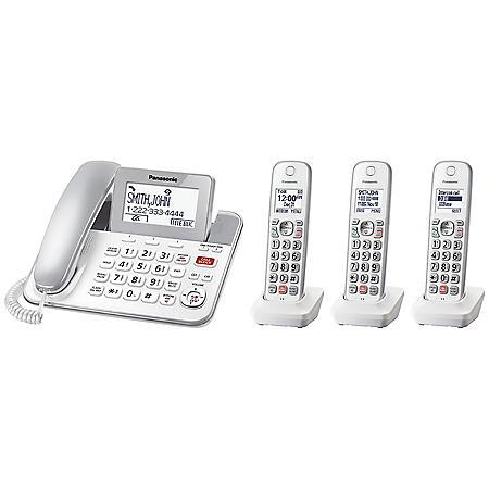 Panasonic KX-TGF853S2 DECT 6.0 Expandable Corded/Cordless Phone System