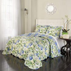 Reminise 3-Piece Reversible Quilt Collection (Assorted Sizes)