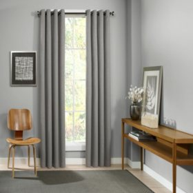 Eclipse Palisade Blackout Grommet Window Curtain (Assorted Sizes)