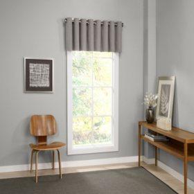 Eclipse Palisade Blackout Grommet Window Valance