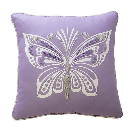 Waverly Kids Ipanema Butterfly Decorative Accessory Pillow