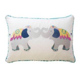 Waverly Kids Bollywood Elephant Decorative Accessory Pillow