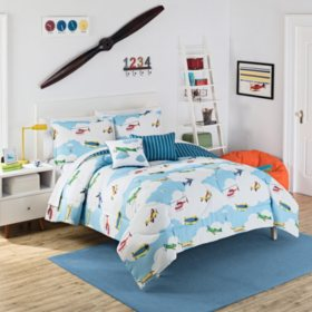 Waverly Kids In the Clouds Reversible Comforter Set