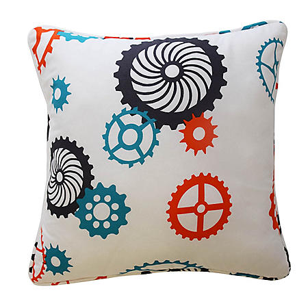 "Waverly Kids Robotic Decorative Accessory Pillow, 15"" x 15"""