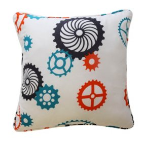 "Waverly Kids Robotic Decorative Accessory Pillow, 15"" x 15"""