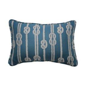 "Waverly Kids Set Sail Oblong Decorative Accessory Pillow, 12"" x 18"""