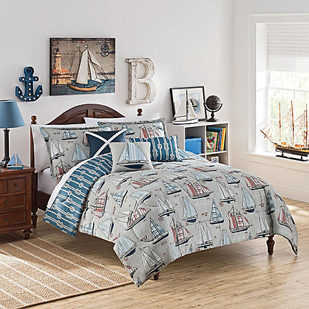 Waverly Kids Set Sail Reversible Bedding Collection