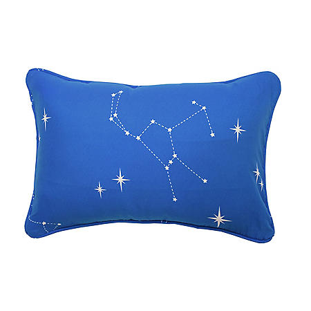 "Waverly Kids Space Adventure Oblong Decorative Accessory Pillow, 12"" x 18"""