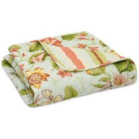 Waverly Reversible Quilted Throw, 50'' x 60'' (Assorted Colors)