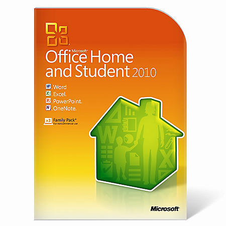 ms office 2010 home and student 3 user